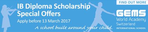 GEMS IB Diploma Scholarship