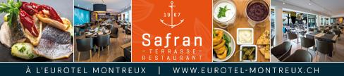 Safran Restaurant Eurotel Montreux