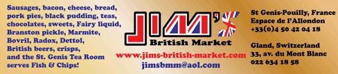 Jims British Market