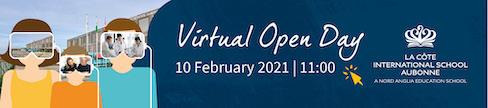 LCIS La Côte International School - Virtual Open Day 10 February 2021