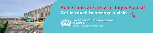 LCIS La Côte International School - Admissions are open July & August 2020