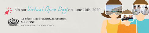LCIS La Côte International School - Virtual Open Day - 10 June 2020