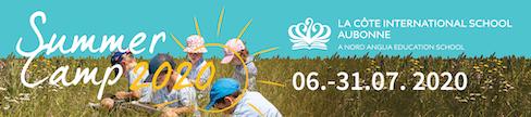 LCIS La Côte International School - Summer Camps 6-31 July 2020