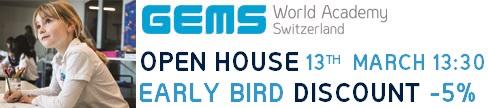 GEMS World Academy Switzerland Summer Camps 2018