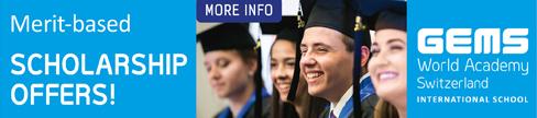 GEMS World Academy Switzerland - Scholarships