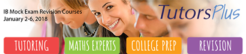 Tutors Plus IB Revision Courses