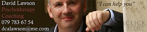 David Lawson, Psychotherapist and Coach