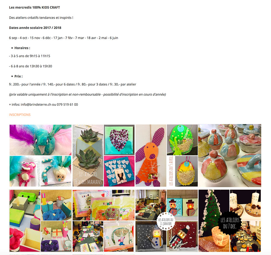 BDT Kids Craft 2017 2018