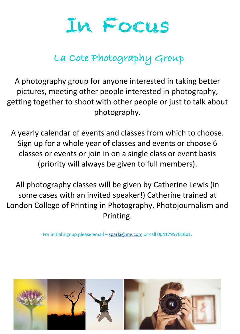 Photography Club La Cote in Focus 2018 1