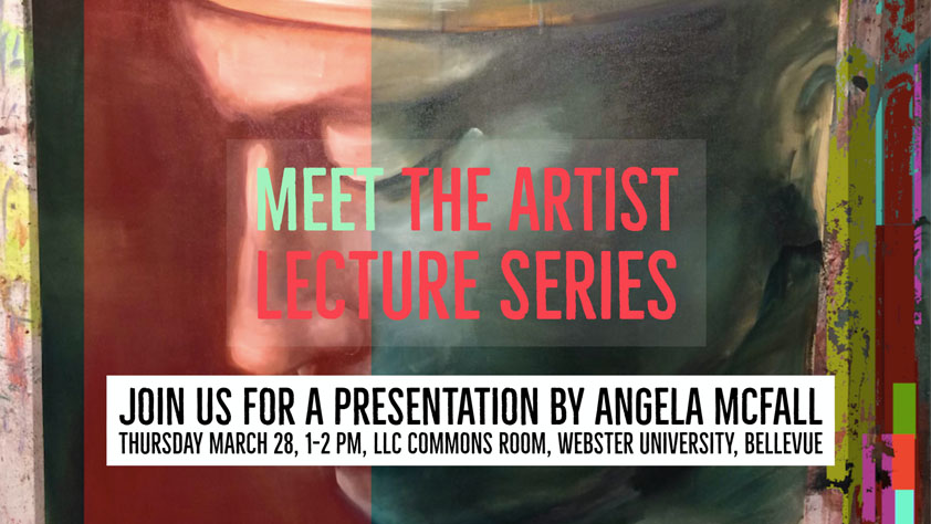 Webster Meet the Artist angela mcfall march 28