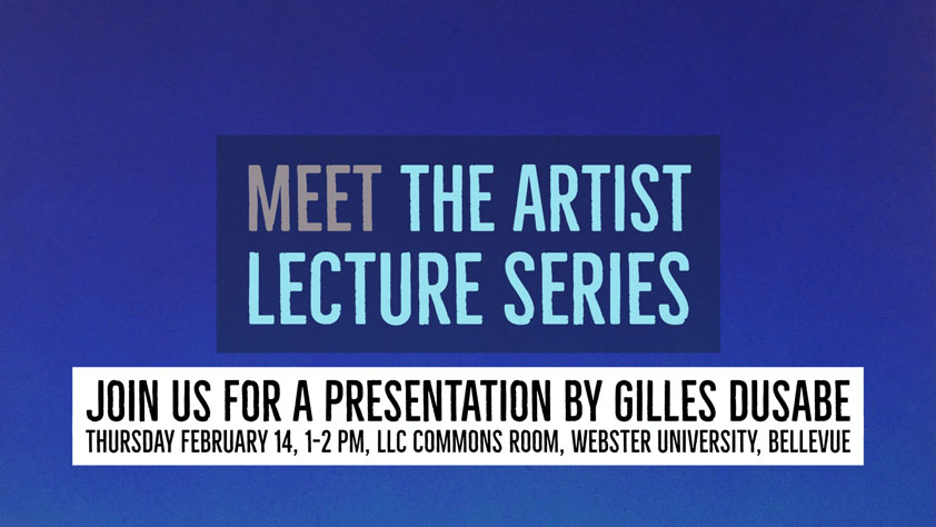 Webster Meet the Artist gilles feb. 14