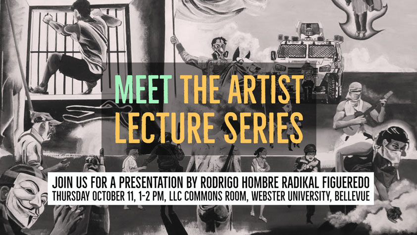 Webster Meet the Artist rodrigo Oct. 11 1