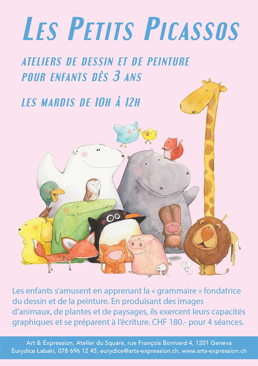 arts et expression kids little picassos 2018