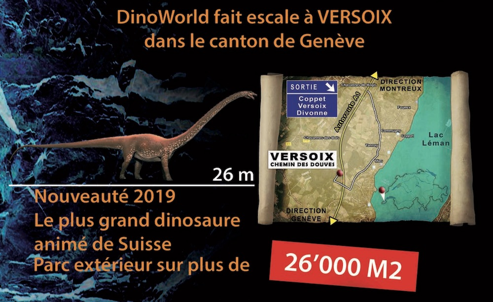 dinoworld map