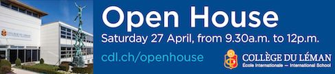 CDL Open House 27 April 2019 from 9h30 12h Versoix