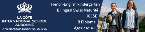 LCIS Aubonne French English kindergarten bilingual Swiss Maturite IGCSE IBdiploma ages2 8