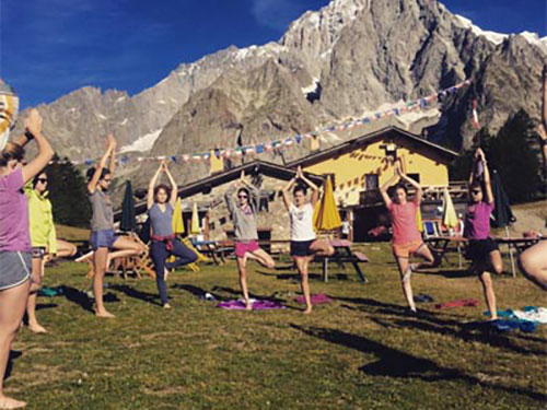 Live Breathe Hike Yoga and snowshoeing summer 500
