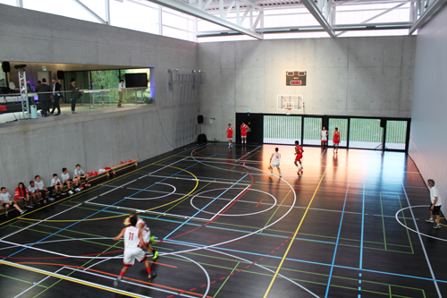 GEMS Basketball game in Sports Centre